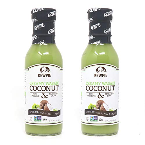 Kewpie Creamy Wasabi Coconut Dressing, 12 Ounce (Pack of 2)