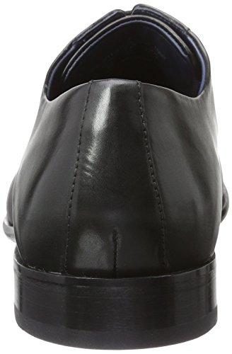 Daniel Hechter 811219071000, Zapatos de Cordones Derby para Hombre Schwarz (Schwarz)