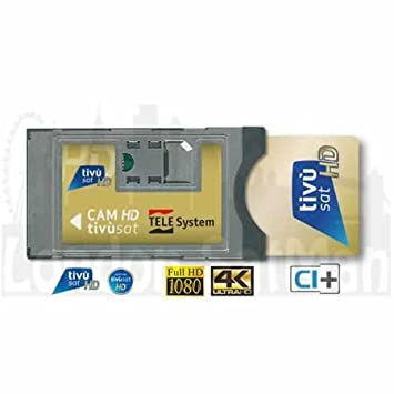 Tivusat CAM and HD smart card  Certified satellite: Amazon