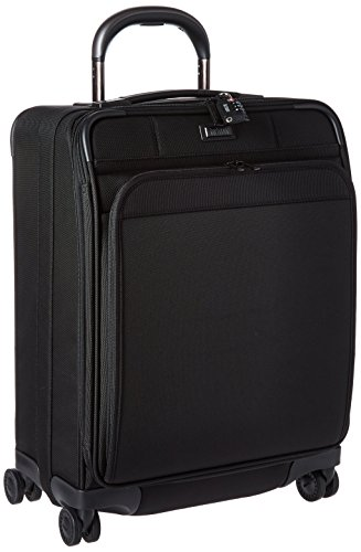 Expandable Glider Luggage - Hartmann Ratio Domestic Carry On Expandable Glider, True Black