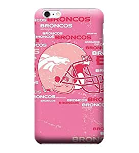 Case Cover For SamSung Galaxy S6 NFL Denver Broncos Blast Pink Case Cover For SamSung Galaxy S6 High Quality PC Case