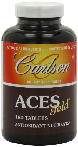 Carlson Labs ACES Gold Multiple Antioxidants, 180 Tablets