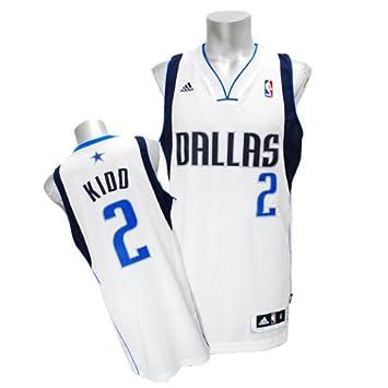 3b4ee8f1a ... NBA Dallas Mavericks White Swingman Jersey Jason Kidd 2