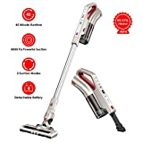 Comfyer Cordless Vacuum Cleaner, 2 in 1 Bagless Stick Vacuum, 8Kpa Multi-Cyclonic Suction