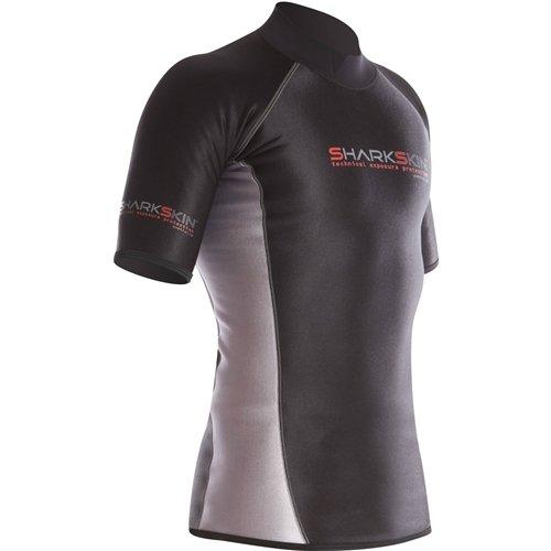 Sharkskin Men's Chillproof Short Sleeve Shirt Wetsuit (L) by Sharkskin