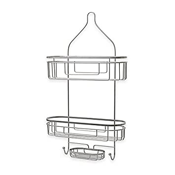 Attractive Extra Wide And Extra Long Shower Caddy In Satin, .ORG