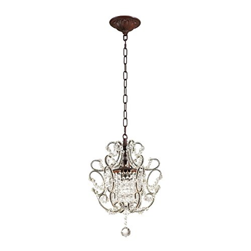 Elise 1 Pendant Light - ELK Lighting 4021/1 Ceiling-Pendant-fixtures, Rust