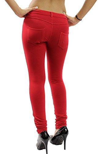 Vanilla Fitted Jeans Señoras Ink nbsp;26 Jeggings 8 Mujeres nbsp;– Elástico Super Nuevas Rojo rrURA