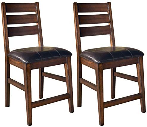 home, kitchen, furniture, game, recreation room furniture, home bar furniture,  barstools 10 picture Ashley Furniture Signature Design - Larchmont Barstool Set - Pub in USA