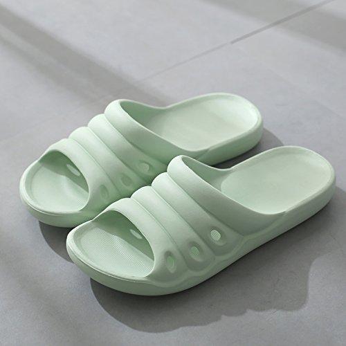 chiaro bagno le da di acqua coppie home 21cm estate verde antiscivolo donne home pantofole bagno interni nbsp;Gli Fankou ciabatte cool e pantofole nell'estate uomini estate 210 Ft4Fx1qpw