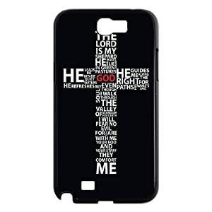 ALICASE Diy Design Back Case Jesus Christ Cross for Samsung Galaxy Note 2 N7100 [Pattern-1]