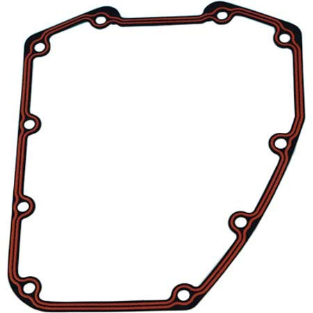 James Gaskets Single Cam Gear Cover Gasket Paper with Bead for Harley 1999 & Up, Twin Cam 88 Models JGI-25244-99