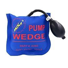 Air Wedge, Picowe Pump Wedge Alignment Tool Inflatable Shim Set (Medium, Blue)