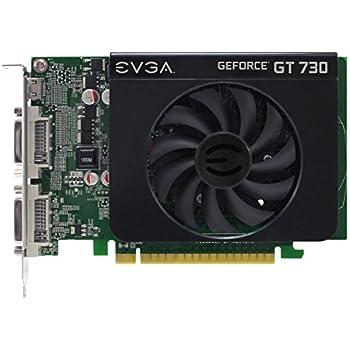 EVGA GeForce GT 730 1GB DDR3 128bit Dual DVI mHDMI Graphics Card 01G-P3-2731-KR