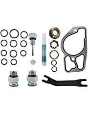 High Pressure Oil Pump Kit with O-Ring Seals & Base Gasket Compatible with Ford 1994-2003 Powerstroke Diesel Engine 7.3L, High Pressure Oil Pump HPOP Master Service Kit
