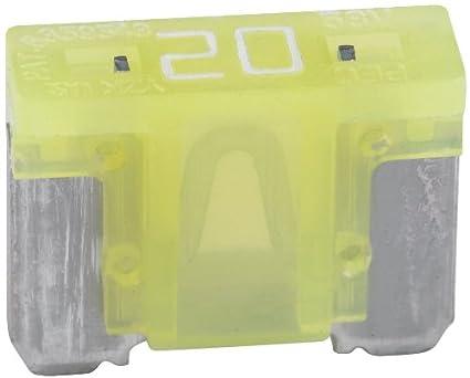 5 unidades Bussmann BP/atm-20lp-rp amarillo perfil bajo ATM ...