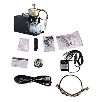 ulable 4500psi 30 mpa Compresor De Aire Bomba eléctrica compresor de aire de alta precisión: Amazon.es: Hogar