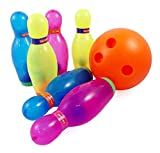 Deluxe Super Bowling Kids Play Set Toy with Shakers