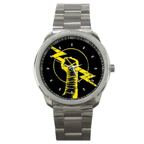 CM Punk Wrestler Logo Sport Metal Watch Special Edition by The A-Watch Shop