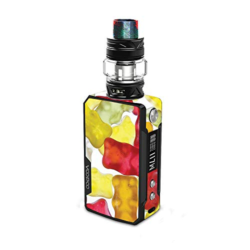 MightySkins Skin for VooPoo Drag 2 - Gummy Bears | Protective, Durable, and Unique Vinyl Decal wrap Cover | Easy to Apply, Remove, and Change Styles | Made in The ()