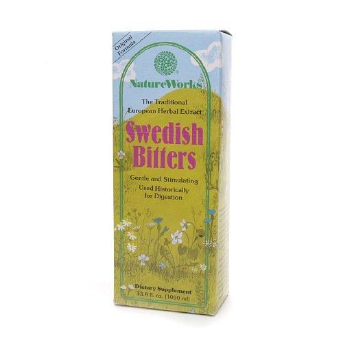 Natureworks Swedish Bitters Liq Extrt 33.8 Fz