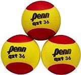 Penn Qst 36 Foam Tennis Balls Red-Yellow