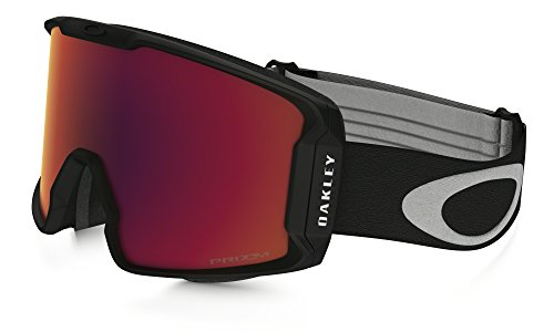 Oakley Line Miner Prizm Snow Goggles Matte Black with Prizm Torch Iridium - Frame Oakley Only