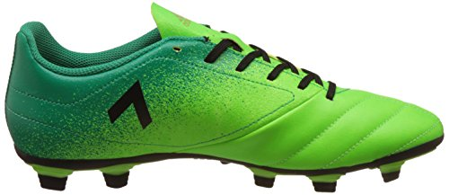 Adidas Ace 17.4 Fxg, para los Zapatos de Entrenamiento de Fútbol para Hombre, Verde (Versol/Negbas/Verbas), 46 EU