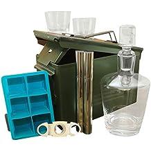 Ammo Gift Box Decanter Set