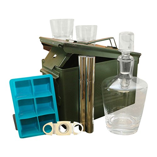 Ammo Gift Box Decanter Set
