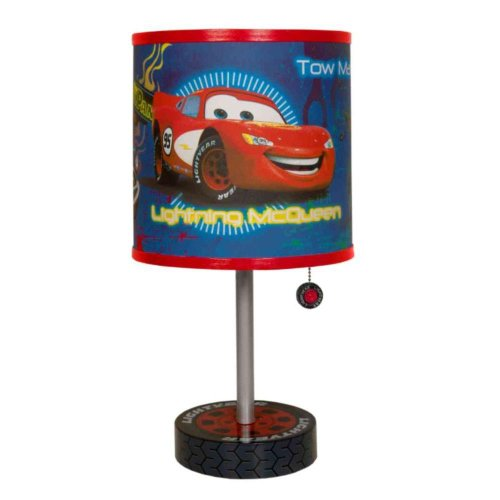 Disney Cars Table Lamp (Winter Table Decoration Ideas)