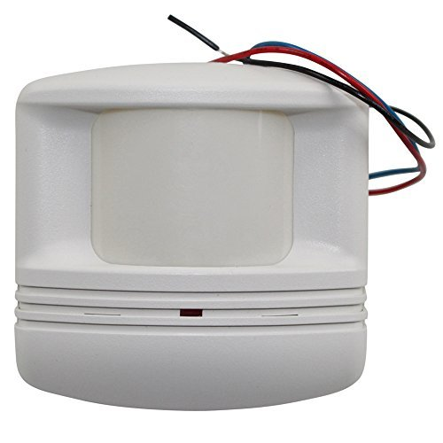 (WattStopper CX-105-4 Ceiling/Wall Occupancy Sensor, Passive Infrared, One sided aisleway lens 24V)