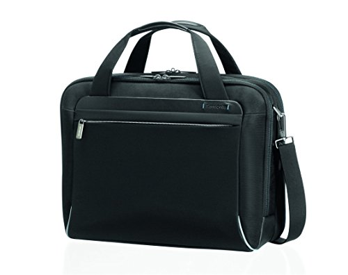 "Samsonite Cartella Spectrolite Bailhandle M 16"" Exp 18 liters Nero (Black) 55692-1041"