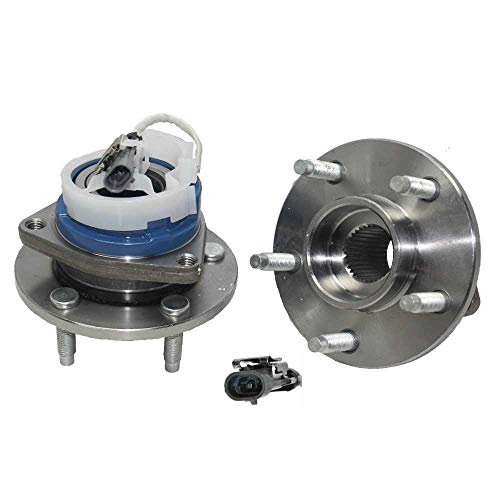 (Prime Choice Auto Parts HB613123PR Pair (2) Wheel Hub Bearing Assembly)
