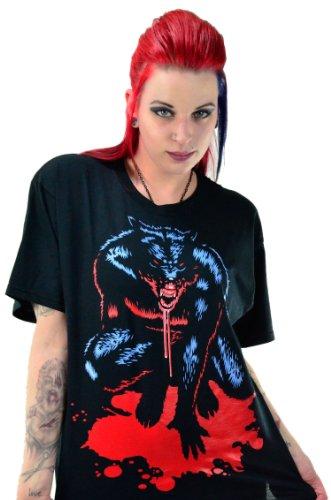 Avant Garde Costume For Men (Michael Shaffer Werewolf T-Shirt XX-Large Black)