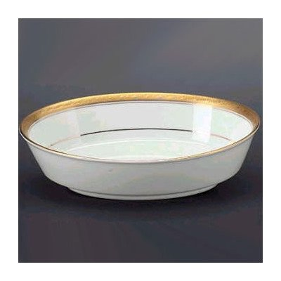 Noritake Crestwood Gold Oval Vegetable Bowl