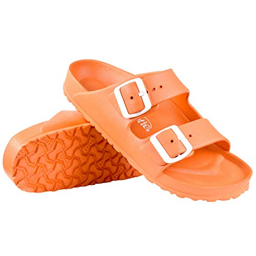 (AEROTHOTIC - Water Friendly Light Weight EVA Sandals and Flip Flops for Women - One Piece Technology (US-Women-6, IRIS)