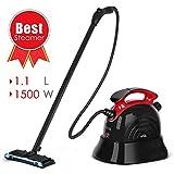 Steam Cleaner, SIMBR Best Steam Mop, Maximum 6M Cleaning Radius, 1.1L Multipurpose Steamer