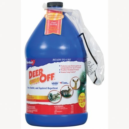 Deer Off 128 oz Ready To Use Deer, Rabbit, and Squirrel Repellent  DO128RTU
