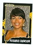 Rosario Dawson trading card (Actress Sin City, Trance) 2008 PopCardz #9