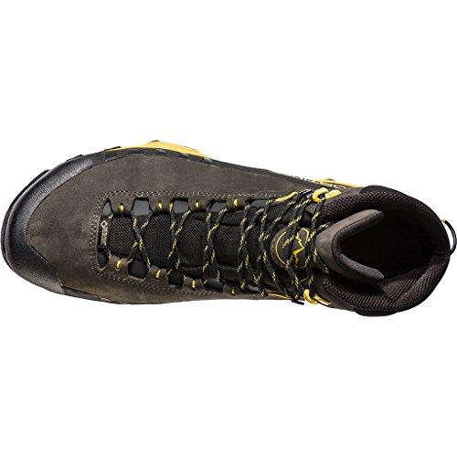 La Sportiva TX5 - Scarpa Mid Uomo Approach Avvicinamento/Outdoor Trekking - Col. Carbon/Yellow