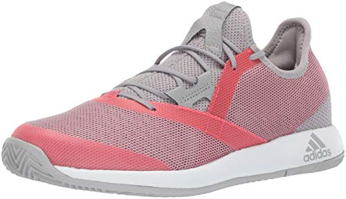 adidas Women's Adizero Defiant Bounce, Light Granite/Shock red/White 6 M US by adidas (Image #1)