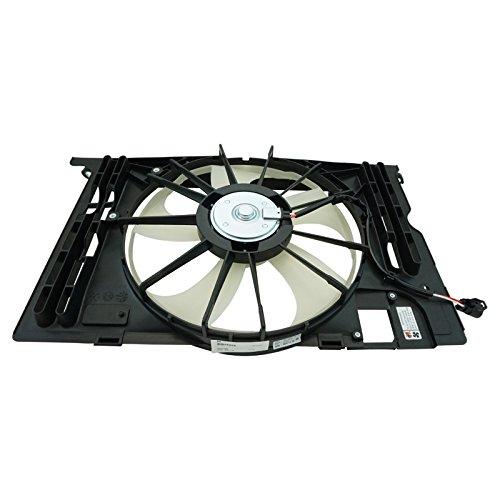 (Radiator Dual Cooling Fan Assembly for Toyota Corolla Matrix Vibe 1.8L w A/C)