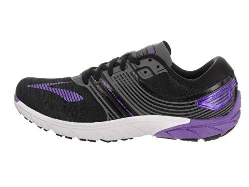 Brooks Purecadence 6, Zapatos para Correr para Mujer Black/Anthracite/Blue Iris