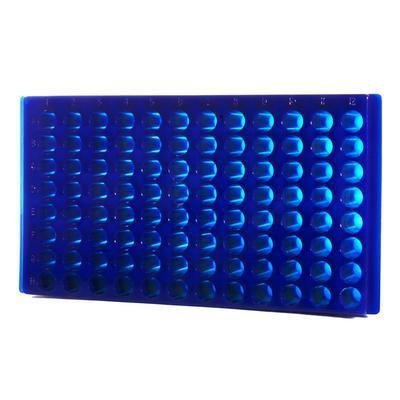Bio Plas 0091 96 Well Microcentrifuge Tube Rack, Assorted (Pack of 20)