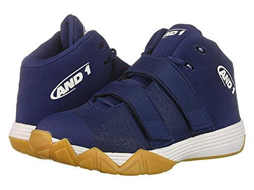 AND 1 Men's Chosen One II Sneaker, Medieval Blue/Mixtape Graffiti, 10.5 Medium US