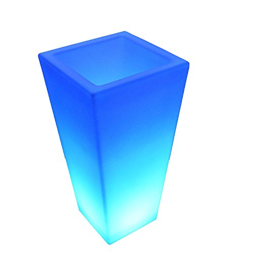 LED Light up Flower Pot for Outdoor / Indoor Use - Glowin...