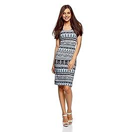 oodji Ultra Women's Jersey Vest Dress