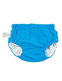 Fenteer Toddler Baby Girls Boys Swim Nappy Diaper Reusable Absorbent Washable Nappies - Blue (for14-16KG), as described