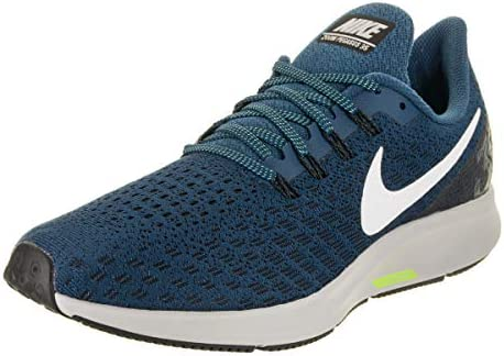 Nike Men's Air Zoom Pegasus 35 Running Shoes 11 D US, Blue Force White Black Wolf Grey